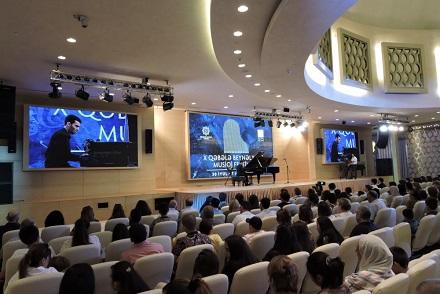 XII Qəbələ Musiqi Festivalının açılışı oldu
