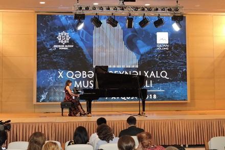 Qəbələdə fortepiano musiqisi axşamı... - Foto