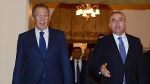 Lavrov spoke to Cavusoglu and said they were ready to help