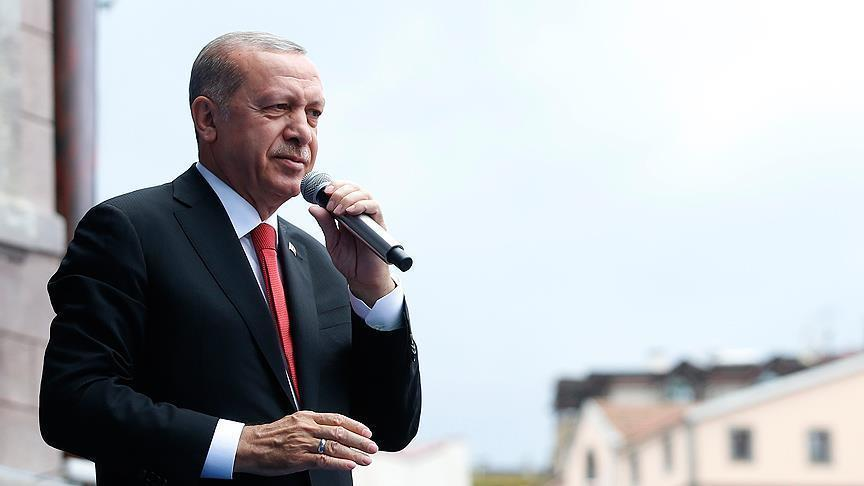 Erdogan: Turkey ends preparations for operation in Syria