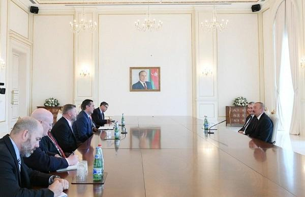 President Ilham Aliyev received US Congress delegation