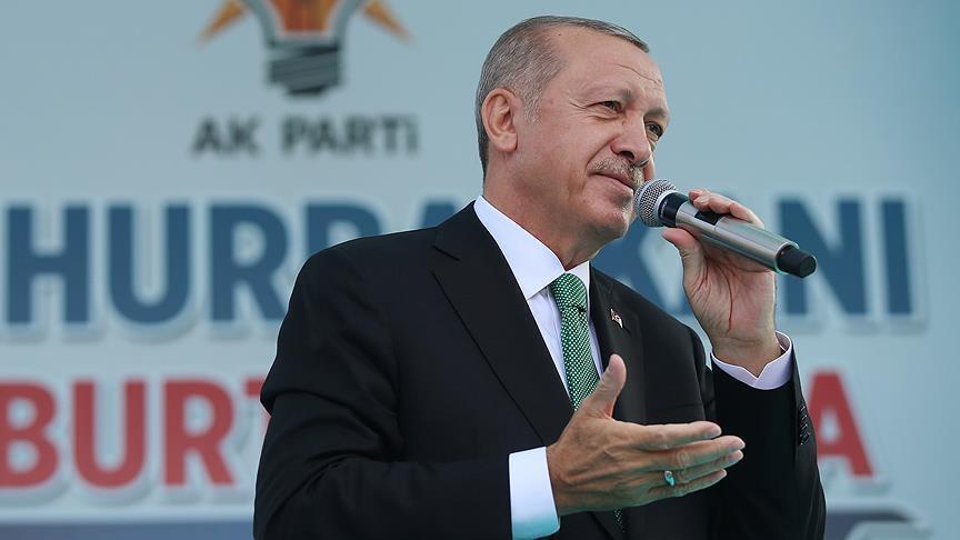 Ona dedim ki, Türkiyəni sən yox, mən idarə edirəm - Ərdoğan
