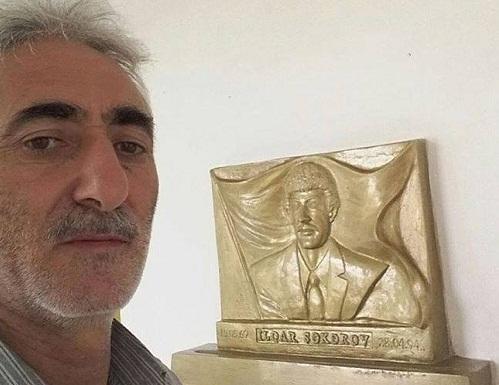 Zahir Məlikli şəhidin barelyefini hazırladı - Foto
