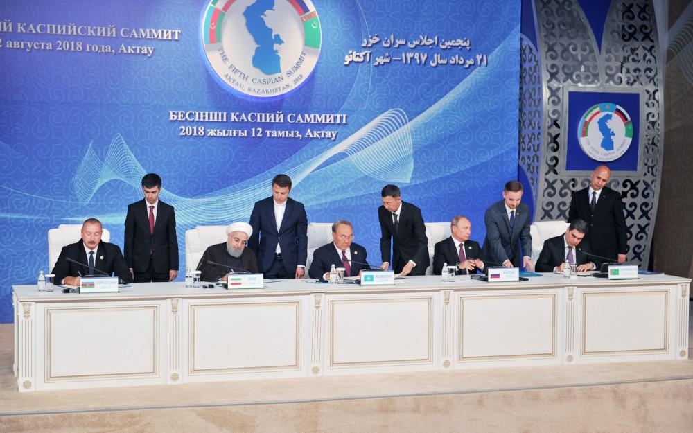 Каспийская конвенция: Армения больше не форпост - Давтян