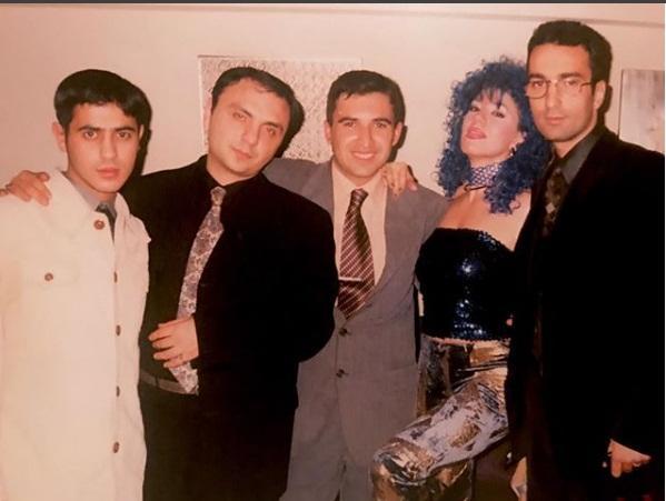 Anar Nağılbaz və Brilyant Dadaşova 20 il əvvəl - Foto