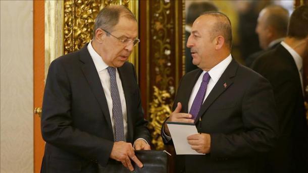 Çavuşoğlu Lavrovla danışdı