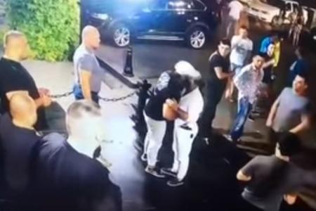 Ölkə çempionu gecə klubunun önündə öldürüldü - Video