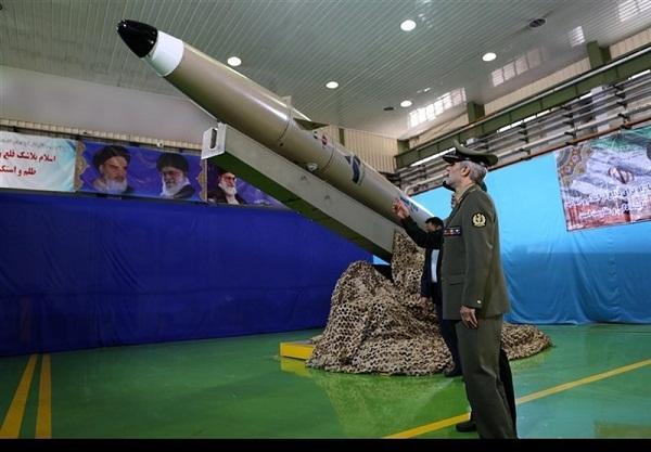 ایران یئنی نسیل بالیستیک راکتینی نماییش ائتدیردی- فوتو