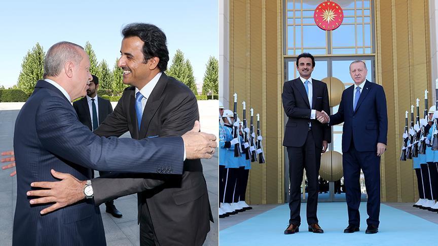 Эмир Катара пообещал Эрдогану инвестиции на $15 млрд
