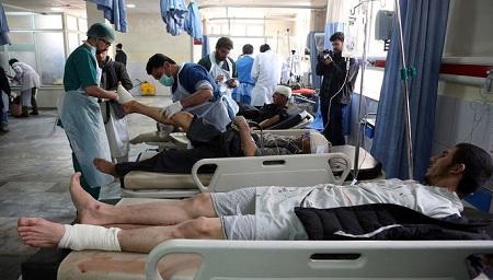 Смертник подорвал в Кабуле 48 человек - Обновлено