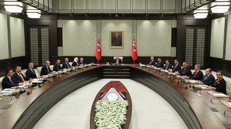 Эрдоган созвал заседание правительства