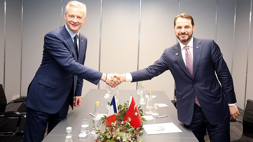 Албайрак провел переговоры с главой Минфина Франции