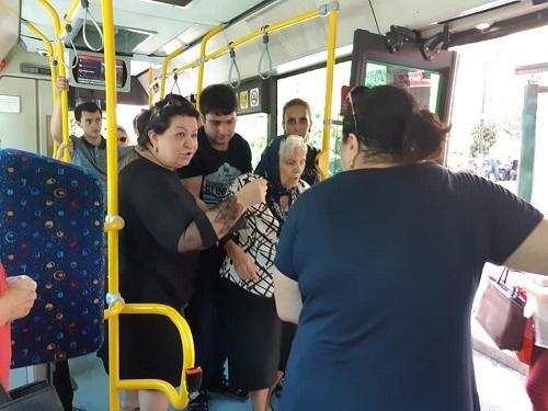 """""""Bakı Bus""""da sürücü səhlənkarlığı - Açıqlama"""