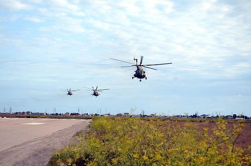 Летно-тактические занятия боевых вертолетов - Видео