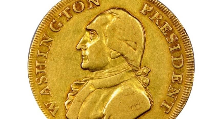 Монета с изображением Вашингтона ушла за $1,7 млн