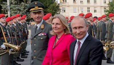 Безопасность Путина обойдется австрийцам в €423 тыс