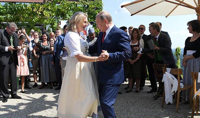 Задумайтесь, прежде чем пригласить Путина на танец