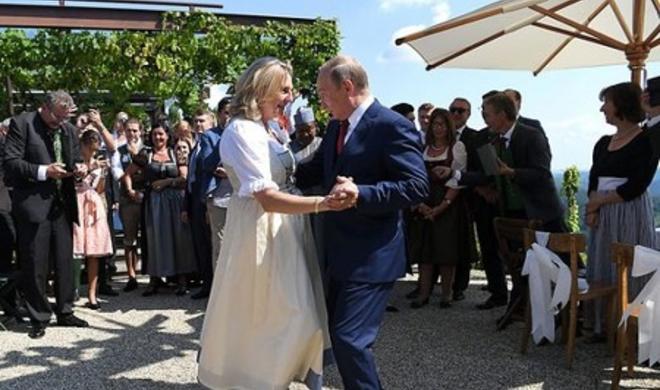 Свадебное шоу Путина - Реакция из Австрии