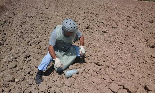 210 mines defused in liberated Azerbaijani lands -
