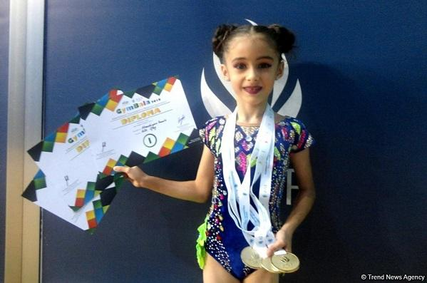 Qalib gimnast: Qələbəmi məşqçimə həsr edirəm