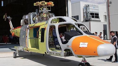 В Турции изготовили прототип многоцелевого вертолета