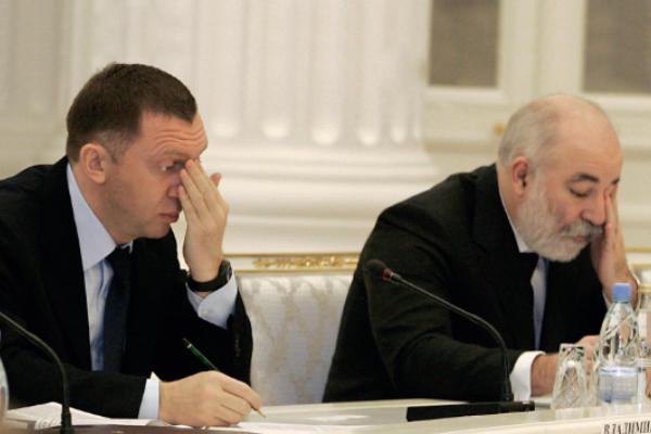 Дерипаска с Ваксельбергом потеряли по $3 млрд на санкциях