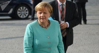 Меркель поздравила Зеленского