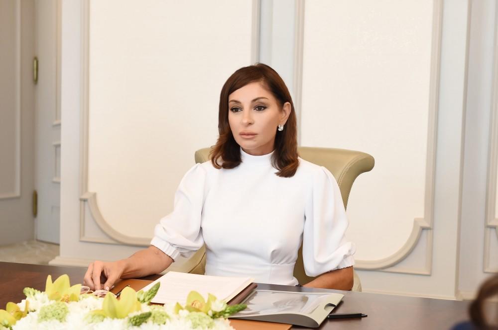 Mehriban Aliyeva congratulates people of Azerbaijan