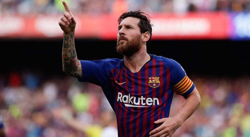 Lionel Messi several goals away from Pele's record