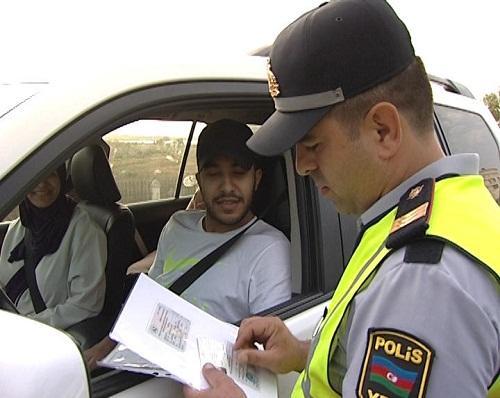 Polis reydi: 717 sürücüyə protokol tərtib olundu