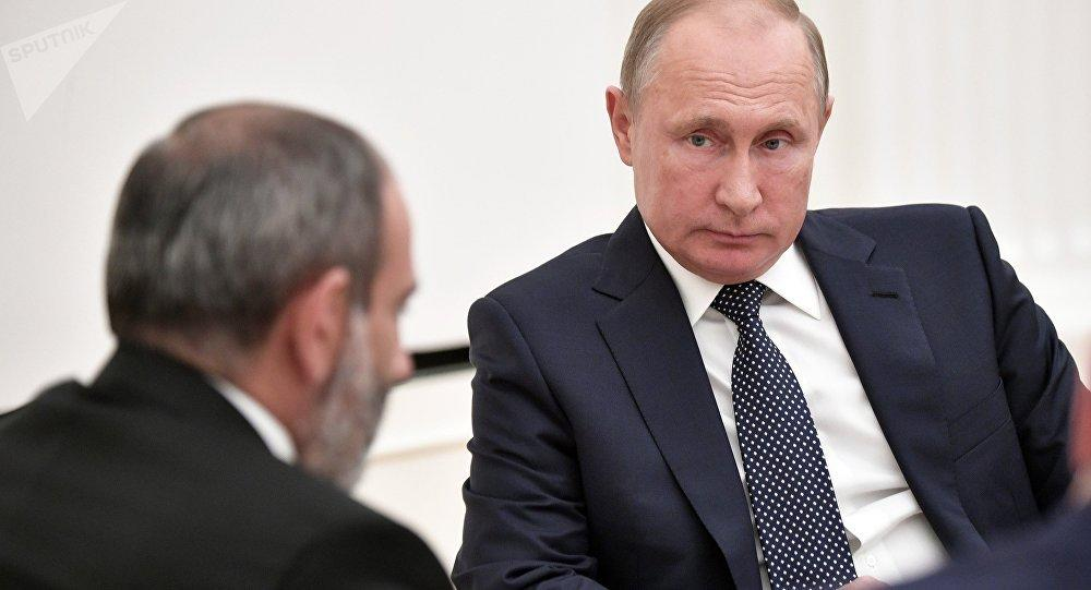 Pashinyan called Putin