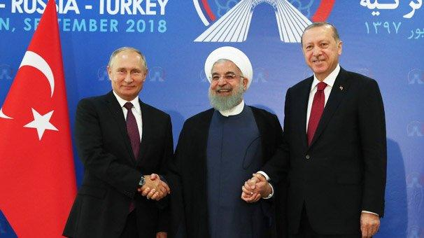 Putin, Erdogan and Rouhani will meet in Iran