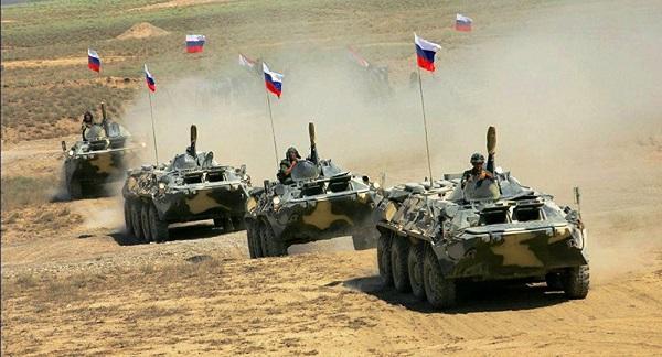 """Rusiya Ermənistandakı tanklarını """"Alagöz""""ə çıxartdı"""