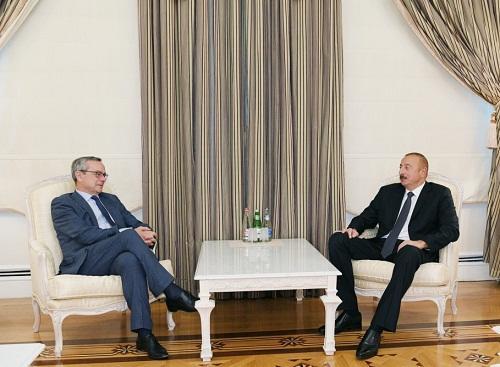 İlham Əliyev NATO PA sədri ilə görüşdü
