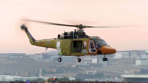 Турция заморозила закупку вертолетов у Италии