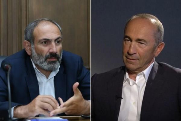 Кочарян обвинил Пашиняна во вмешательстве в дела Карабаха