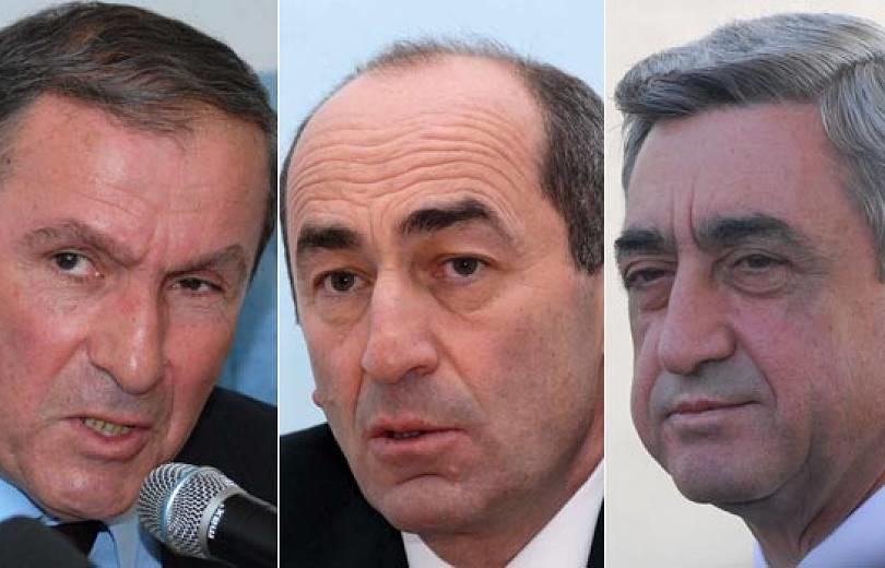 """Три """"экса"""" не пришли на выборы мэра Еревана"""