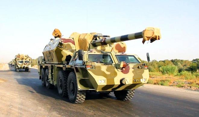 The Azerbaijani army launched exercises