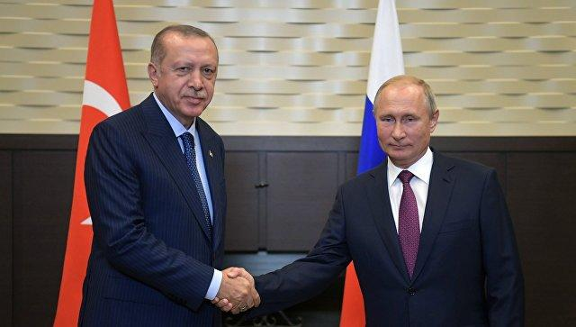 Erdogan spoke with Putin