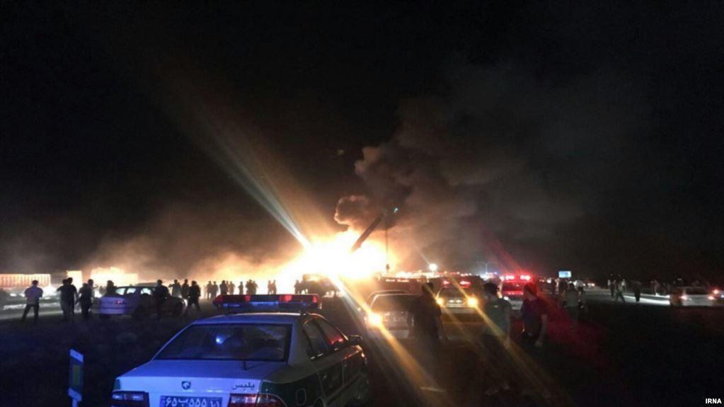 Hacıqabuldakı güclü yanğın söndürüldü