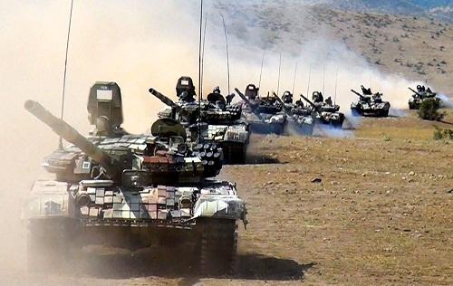 Azerbaijani military exercises were conducted -