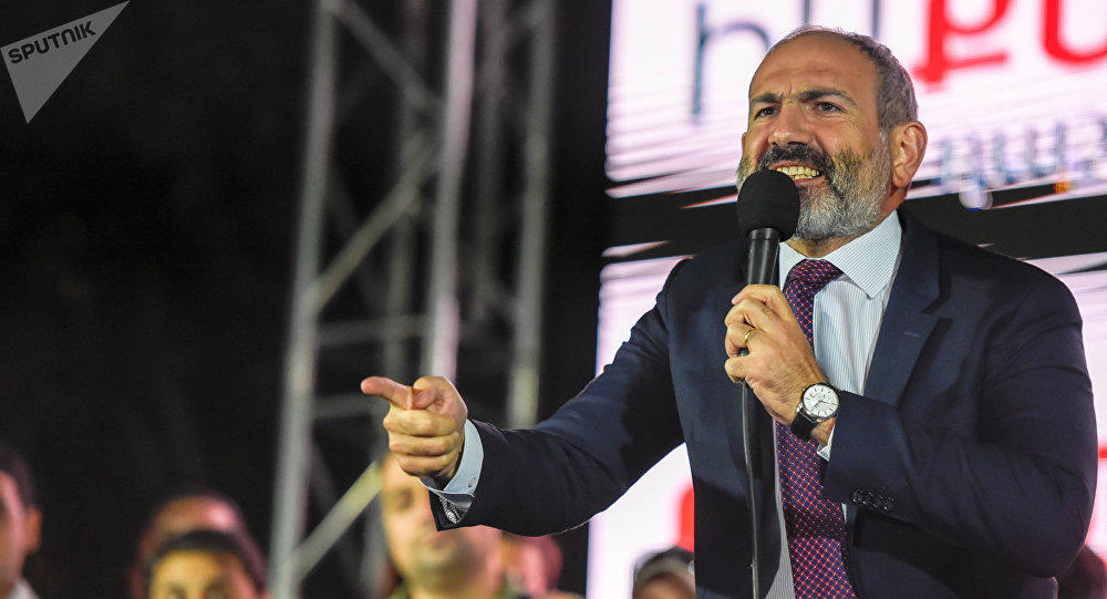 Pashinyan got scared, called his supporters to rally