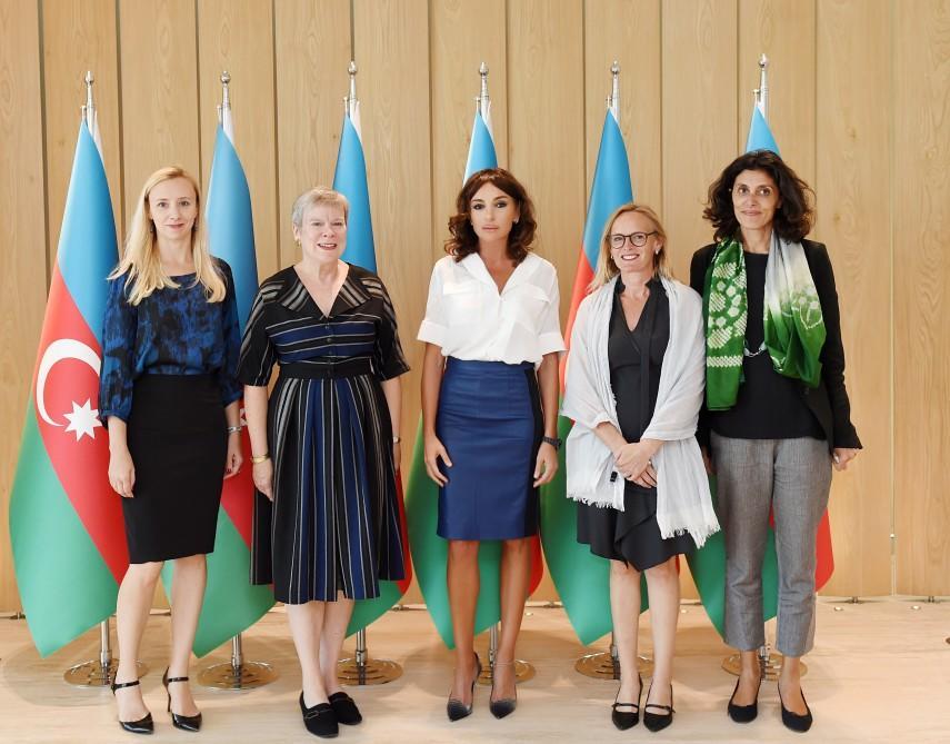 Mehriban Aliyeva meets NATO deputy secretary general