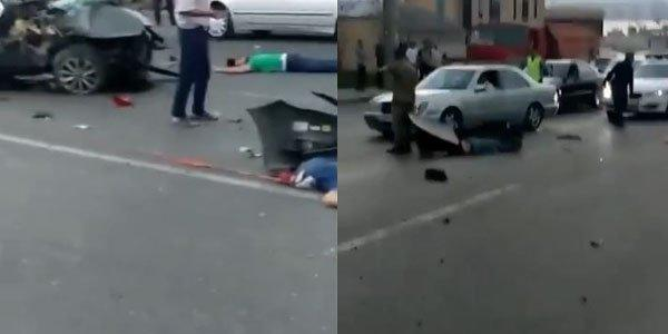 Bakıda dəhşətli qəza: 4 nəfər öldü -
