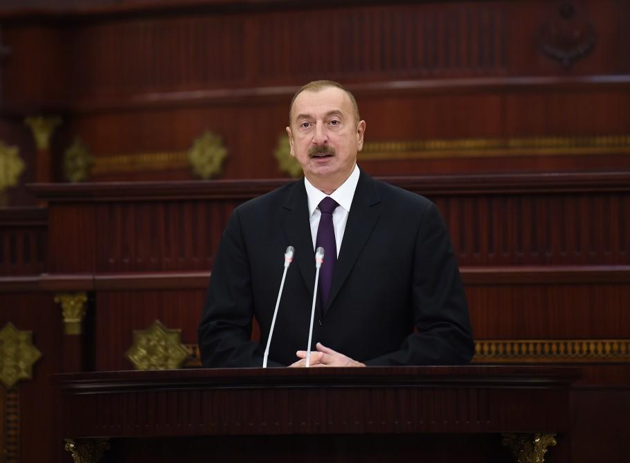 Ильхам Алиев: успех отвернулся от Армении