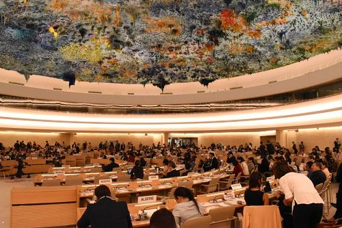 Azerbaijan's report unanimously adopted by UNHRC