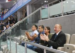 President watched World Judo Championships