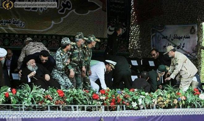 ایران پارادیندا تئراکت آنی: گنراللار نه ائتدی؟ - فوتو