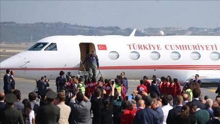 Erdogan goes to earthquake zone -