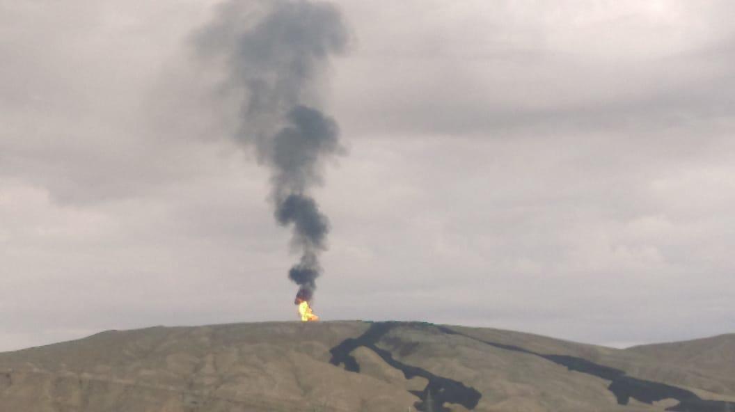 Şamaxıda vulkan püskürdü